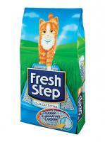 Fresh Step Фреш Степ Тройная защита Впитывающий наполнитель