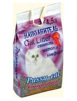 Pussy-Cat Комкующийся наполнитель, 4,5л, пакет