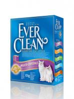 Ever Clean Эве Клин Комкующ. наполнитель с селикагелем (Multi Crystals Blend) - сиреневая полоса