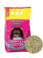 Сибирская кошка Комфорт: Впитывающий наполнитель, 20л