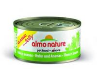 Almo Nature Алмо Нечерал Корм влажный Консервы для Кошек с Курицей и Ананасом (Classic Adult Cat Chicken&Pineapple) 9411