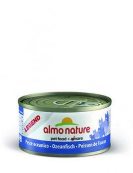 Almo Nature Алмо Нечерал Корм влажный Консервы для Кошек с Океанической рыбой 75% мяса