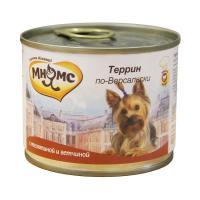 Мнямс Террин по-версальски Телятина с ветчиной для собак