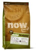 NOW Natural holistic Fresh Senior Small Breed Recipe Grain Free Сухой корм Беззерновой для Пожилых собак Мелких пород Индейка Утка Овощи