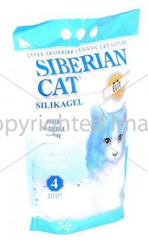 Сибирская кошка Силикагелевый наполнитель Элитный Силикагелевый наполнитель, ЭКО
