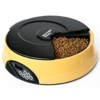 FEED-EX PF1P Автокормушка желтая для сухого корма и консерв, с емкостью для льда на 6 кормлений