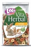 LoLo Pets Color Rolls  Разноцветные колечки из зерна для грызунов