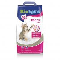 Biokat's «Micro Fresh» БиоКетс Микро Фреш Комкующийся наполнитель для кошачьего туалета