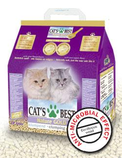 CAT`S BEST NATURE GOLD (КЭТС БЭСТ НЕЙЧЭ ГОЛД) - наполнитель для кошачьего туалета