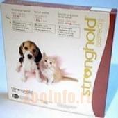 Стронгхолд Капли от внутренних и внешних паразитов для щенков и котят