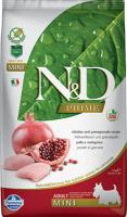 Farmina N&D Chicken & Pomegranate Adult Фармина Полнорационный корм для взрослых собак мелких пород курица, гранат