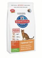 Hill?s ™ Science Plan™ Feline Adult Optimal Care™ with Rabbit с Кролика