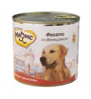 Мнямс Фегато по-венециански Телячья печень с пряностями для собак