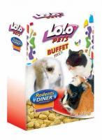LoLo Pets Cloves Corn Лакомство для всех грызунов Кукурузные Зубки
