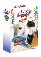 LoLo Pets Flakes Rice Лакомство для всех грызунов Хлопья Рисовые