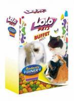 LoLo Pets Pellets Salad Лакомство для всех грызунов Салат Микс