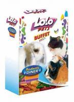 LoLo Pets Sticks Mix Лакомство для всех грызунов Палочки Микс