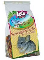 Lolo Pets Herbal Fruit-Vegetable Larder Хербал Кладовая овощей и фруктов для шиншилл