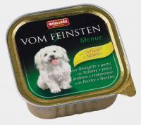 Animonda Vom Feinsten Анимонда консервы для взрослых собак с мясом домашней птицы и пастой