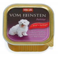 Animonda Vom Feinsten Консервы с говядиной и мясом домашней птицы для щенков и юниоров