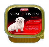 Animonda  Vom Feinsten Senior Анимонда Сеньор консервы с говядиной и курицей для собак старше 7 лет