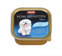 Animonda Vom Feinsten консервы с курицей и сайдой для взрослых собак