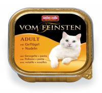 Animonda Vom Feinsten Анимонда Корм влажный для взрослых кошек с домашней птицей и пастой