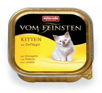 Animonda Vom Feinsten Анимонда Киттен Корм влажный с домашней птицей для котят