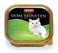 Animonda Vom Feinsten Анимонда Корм влажный для кастрированных кошек с индейкой