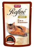Animonda Rafine Soupe Adult Анимонда Корм влажный Коктейль из телятины в жареном соусе для взрослых кошек
