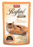 Animonda Rafine Soupe Adult Анимонда Корм влажный с индейкой в морковном желе для взрослых кошек