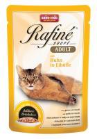 Animonda Rafine Soupe Adult Анимонда Корм влажный с курицей в яичном пудинге для взрослых кошек