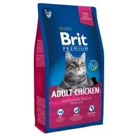 Brit Premium Cat Adult Chicken Полнорационный корм премиум-класса для взрослых кошек. С курицей в соусе из куриной печени