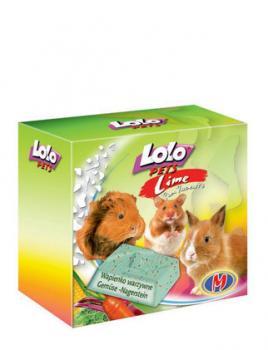 LoLo Pets Mineral block for rodents- Vegetables  Минеральный камень с овощами для грызунов