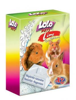 LoLo Pets Mineral block for rodents- Natural XL Минеральный камень натуральный для грызунов XL