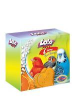 LoLo Pets Mineral block for birds- Orange  Минеральный камень с апельсином для птиц
