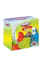 LoLo Pets Mineral block for birds- Apple  Минеральный камень с яблоком для птиц