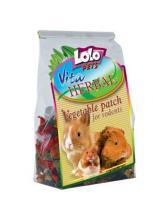 Lolo Pets Herbal Vegetable Patch Хербал Овощная грядка для грызунов