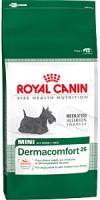 Royal Canin Mini Dermacomfort 26 Сухой Корм для Собак с Чувствительной Кожей