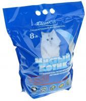 Купить Чистый котик силикагелевый наполнитель для кошачьего туалета