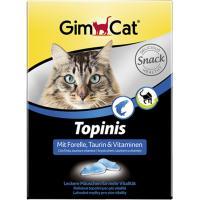 """Gimcat «Topinis» Витаминизированные """"Мышки""""  с форелью и таурином,  70 шт"""