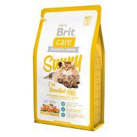 """Brit Care """"Sunny"""" Beautiful Hair Сухой корм для кошек с лососем и рисом, уход за шерстью"""
