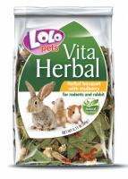 Lolo Pets Herbal Bouguet with mulberry Лоло Петс Хербал Букет Лекарственных трав с шелковицей для грызунов