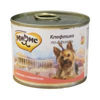 Мнямс Клефтико по-афински Ягненок с томатами для собак