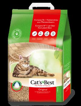 Cat's Best Original Древесный комкующийся наполнитель для кошачьего туалета