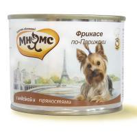 Мнямс Фрикасе по-парижски Индейка с пряностями для собак