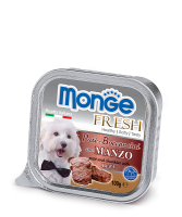 Monge PATE e BOCCONCINI con MANZO Монж Нежный паштет из говядины