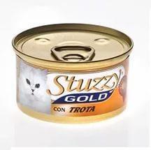 STUZZY GOLD Штузи Влажный корм для взрослых кошек Форель, мусс