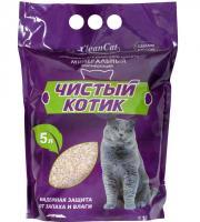 """""""Чистый котик"""" минеральный впитывающий наполнитель для кошачьего туалета"""