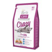 """Brit Care """"Crazy"""" Kitten Гипоаллергенный Сухой корм с курицей и рисом для котят"""